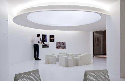 Futuristic Office #architecture #white