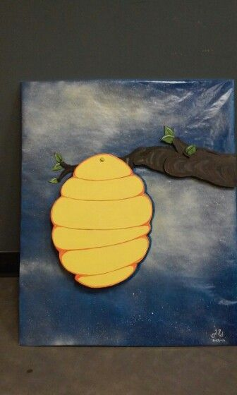 Tac board bee hive i made for a school teacher