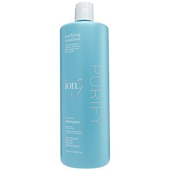 Ion Hard Water Shampoo Liter -Ion Hard Water Shampoo helps helps prevent build-up of hard and well water minerals like Iron, Calcium, Magnesium and Copper that can cause dryness, damage, discoloration and dullness.