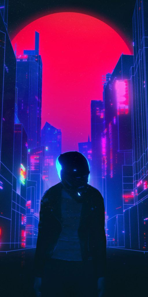 Iphone X Wallpaper Screensaver Background 189 Cyberpunk 4k Hd Cidade Cyberpunk Cyberpunk Arte Cyberpunk