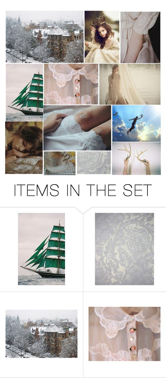 """""""And Wendy was every inch a woman- though there were not a great many inches."""" by thelittlewhitebird ❤ liked on Polyvore featuring art"""