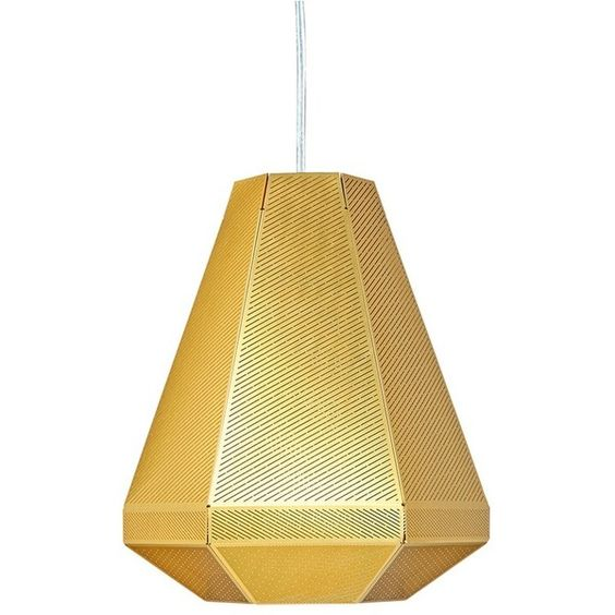 Tom Dixon Cell tall pendant light (¥108,220) ❤ liked on Polyvore featuring home, lighting, ceiling lights, lamps, contemporary modern lighting, brass wall lamp, contemporary ceiling lighting, wall mounted lamp and contemporary wall lamp