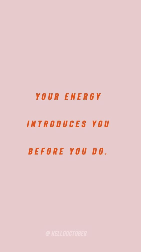 Your energy introduces you before you do | Get inspired at sylviavandelogt.com
