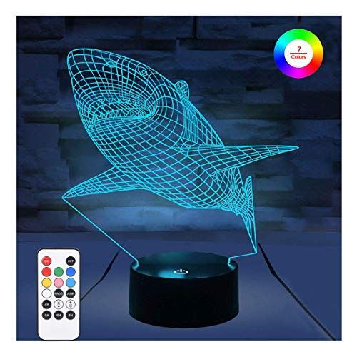 3d Night Lights For Kids Wohome Illusion Lamp With Remot Https Www Amazon Com Dp B07hvtvk28 Ref Cm Sw R Pi Dp U X 3d Night Light Night Light Bedroom Deco