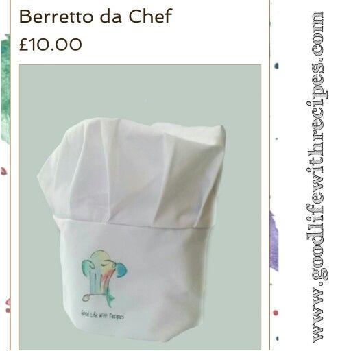 New gadget berretto da chef con logo! 10£