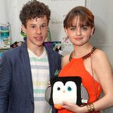 Nolan Gould...he's so grown up now! With Poketti Sydney the Penguin