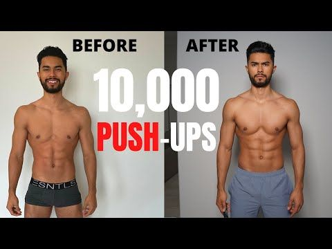I Did 300 Pushups Every Day For 30 Days And This Happened Youtube Gym Workout For Beginners 300 Pushups A Day 30 Day Transformation