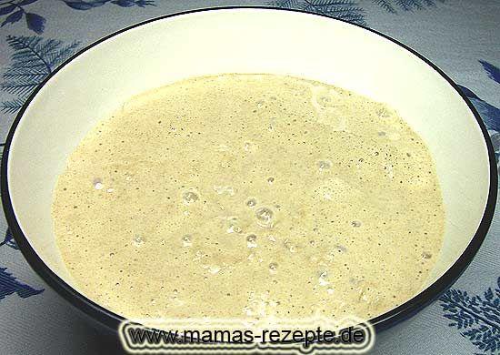 Rezept Sauerteig in 24 Stunden  auf Mamas Rezepte Homepage