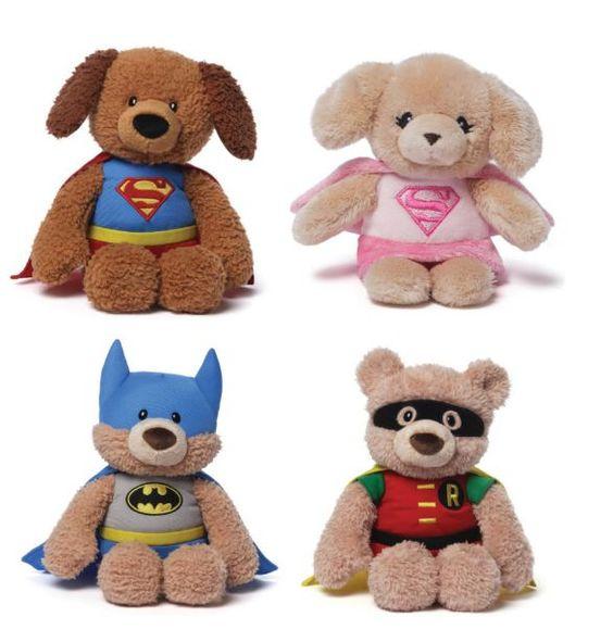 Gund Superhero Comics Teddy Bears as low as $15!