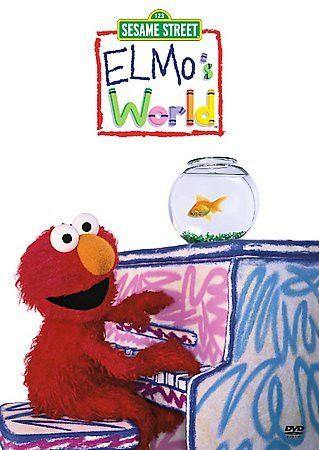 Elmos World-Dancing Music Books (Dvd)