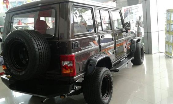 Mahindra Bolero Modified Rear Bolero New Cars Monster Trucks
