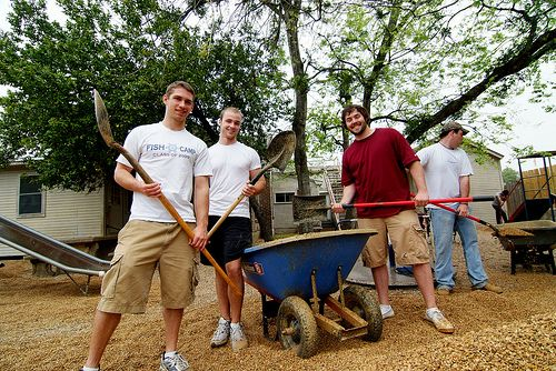 "The Big Event is the largest, one-day, student-run service project in the nation where students of Texas A University come together to say  ""thank you' to the residents of Bryan and College Station for their loyal support."