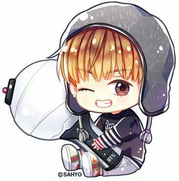 Pin Oleh Moomoo Di Bts Fanart Bt21 Chibi Bts Anime Angel Kartun