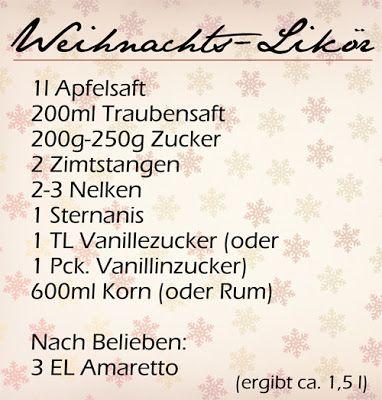 Elly's Art: Adventskalender - 10 - Weihnachts-Likör