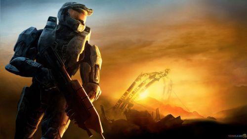 Halo 3 High Ground Hd Wallpaper Halo Game Halo 3 Master Chief