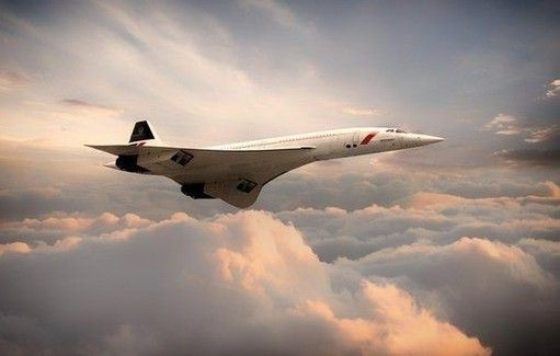 "Concorde Airliner Heathrow Aircraft Aviation Painting Art Print 14/"" Print"