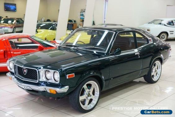 1973 Mazda Savanna Rx3 Super Deluxe Green Manual 4sp M Coupe Mazda Savanna Forsale Australia Coupe Cars Mazda Cars Mazda