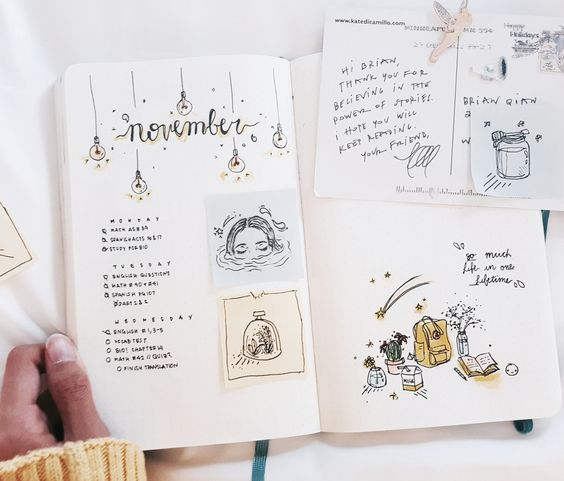 """studywithinspo: """"The evolution of my bullet journal in seven pictures. """":"""