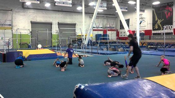 """Level 3 Gymnastics Floor Routine (""""Old Level 4"""", 2013-2020 USAG Routine)"""