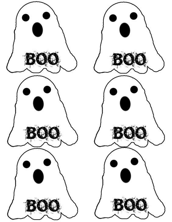 Fun Halloween Gift Tags - Deja Vue Designs