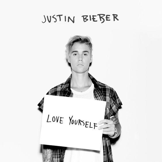 Justin Bieber – Love Yourself (single cover art)