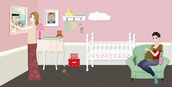 Ibilab presenta un cuento infantil para parejas de mujeres por reproducción asistida | Masola