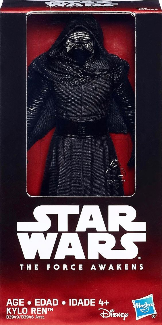 "KYLO REN | Star Wars 6"" Hasbro's VALUE SERIES 2015 (Wave 1) 