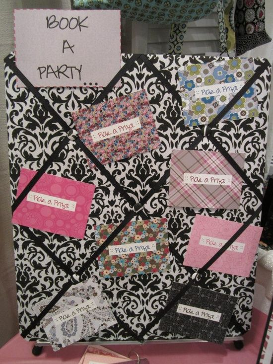 If you agree to HOST a MK party, you get to pick a prize from the Hostess Prize Board // Love this IDEA!!!