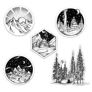 Forest Bound Sticker Pack Risunki Sovremennye Princessy Disneya