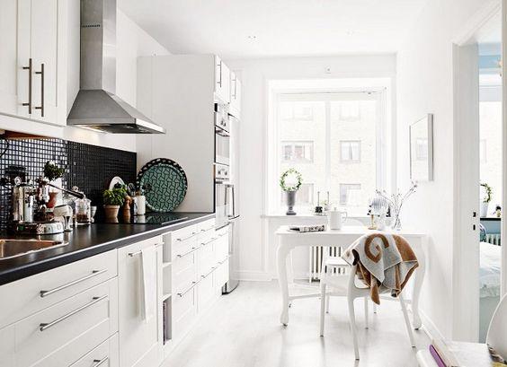 Small One Sided Galley Kitchen 25 absolutely beautiful small kitchens | beautiful, design och små kök