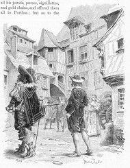 Die drei Musketiere by Maurice Leloir