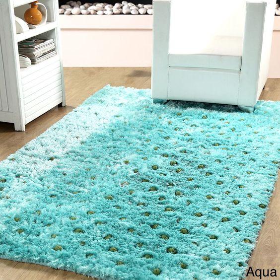 Affinity Soft Plush Textured Silken Shag Rug
