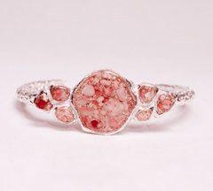 Dear friend Alexandra makes the most beautiful jewelry- Bermuda sand cuff