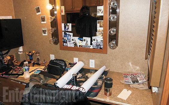 Norman Reedus' Day on the 'Walking Dead' Set: An EW Photo Album