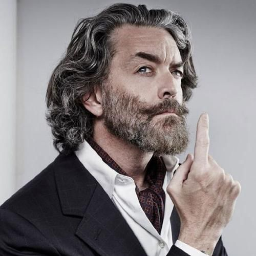 Natural Wavy Long Hair For Older Man 35 Best Men S Hairstyles For Over 50 Years Old Latest In 2020 Best Hairstyles For Older Men Older Mens Hairstyles Hipster Haircut