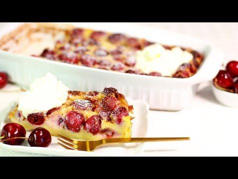 Franzosischer Kirschkuchen Fur Faule Kirsch Clafoutis Youtube In 2020 Kirschkuchen Lebensmittel Essen Kirsch Clafoutis