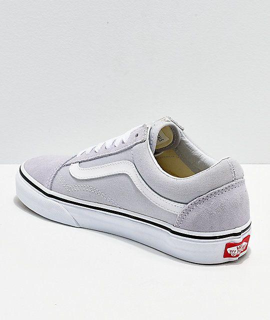 Vans old skool gray, Vans shoes outfit