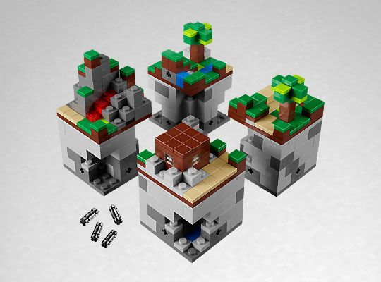 Minecraft + LEGO = WIN!