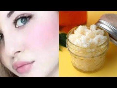 مقشر موجود في كل بيت سيجعل بشرتك كالزجاج يوم العيد بشرة بيضاء وناعمة بدو Sugar Scrub Condiments