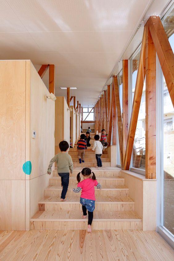 hakusui nursery chiba japan ykdw designboom