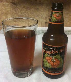 Pumpkin Ale from Buffalo Bill's Brewery