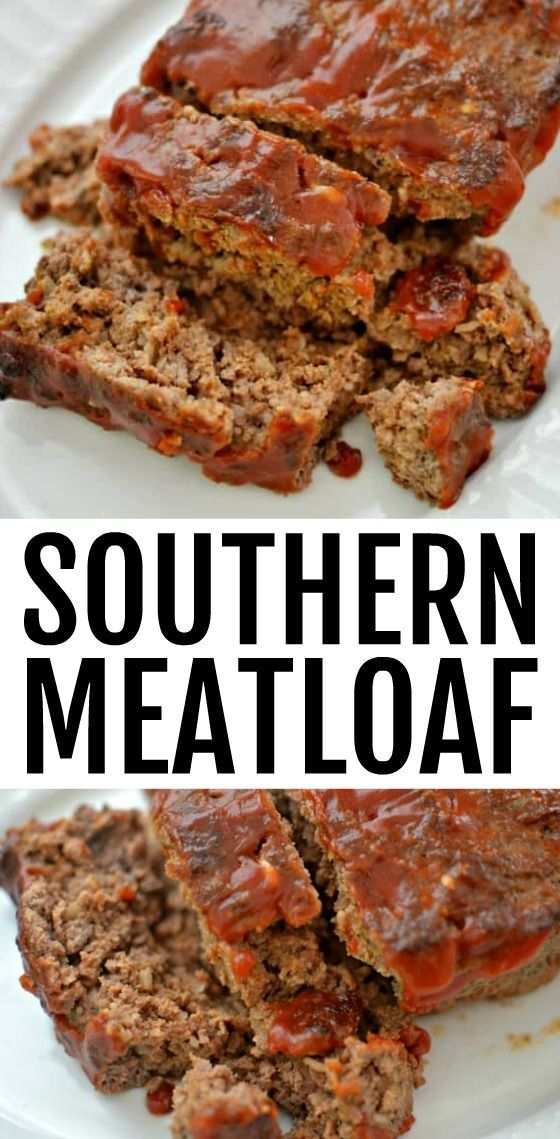 Southern Style Meatloaf