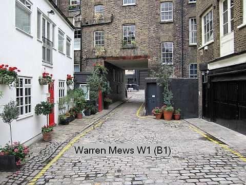 warren mews london ile ilgili görsel sonucu