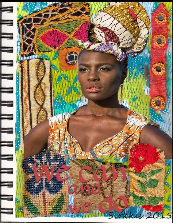 sirkkiksen korttipakka: AJJ - African Women/Afrikkalaiset naiset