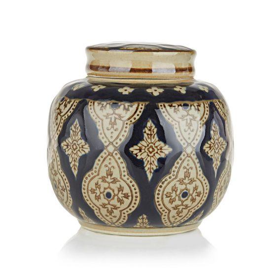 Tzar Round Jar Navy