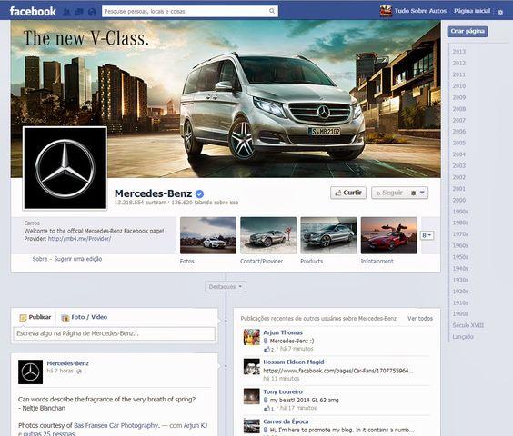 Mercedes Classe M: Mercedes-Benz líder também nas Redes Sociais http://mercedes.itavema.com.br/