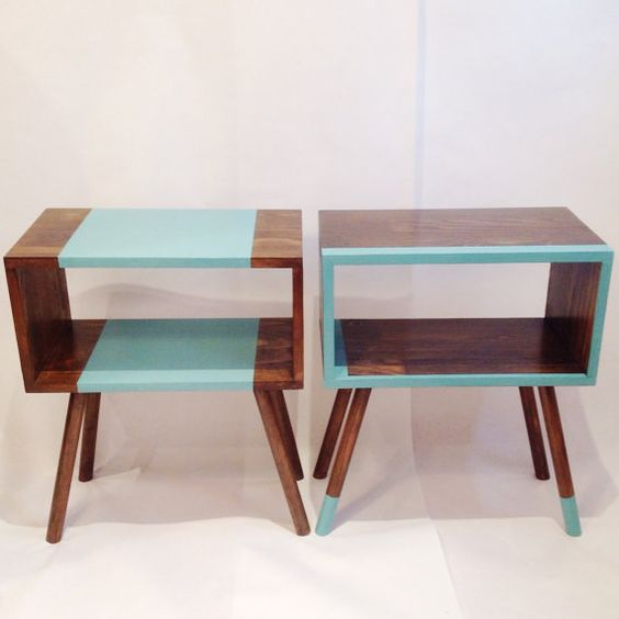 Best Mid Century Modern Tables Midcentury Bedside Table 400 x 300