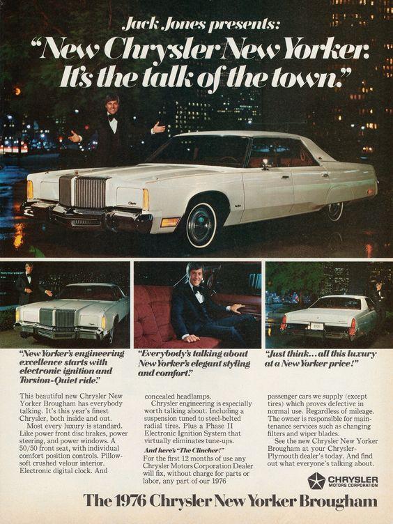 1976 Chrysler New Yorker Brougham 4-Door Hardtop