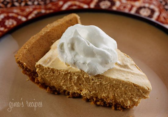 Pumpkin Spice No-Bake Cheesecake -  do without crust and with splenda for low carb