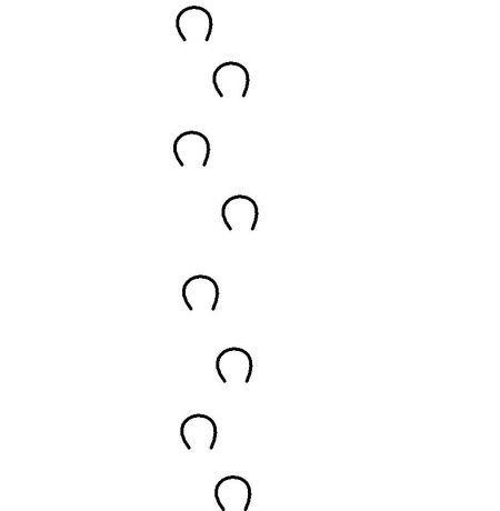 horse hoof prints border running shoe print clipart shoe print clipart black and white